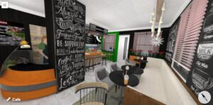 Beautiful Lovely Cafe Designs